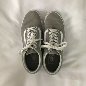 Grey Old Skool Vans!!